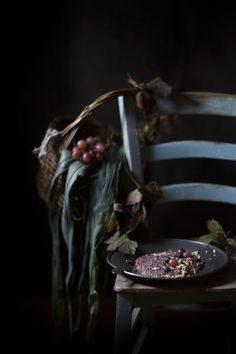 Two Autumnal recipes with Amedeo Modigliani's grapes & a nostalgic glimpse of the old Academy of Fine Arts of Venice
