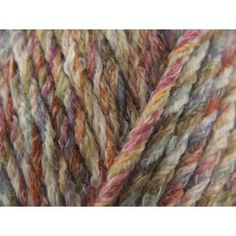 Sirdar Faroe Chunky £3.69 Heath 252  60% acrylic, 25% cotton, 15 % wool, 85m/50g 14 stitches to 19cm on 6.50 mm needles