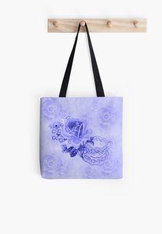 #BlueVintageTeacup&Flowers #ToteBag by #MoonDreamsMusic