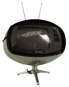 Panasonic TR-005 Orbital TV | 1970s MCM TV