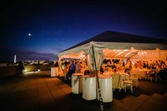 Rooftop Private Event Terrace | Charlie Palmer Steak DC