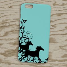 Wild Horses Flourish Phone Case - The Painting Pony