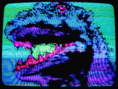 trippy drugs lsd acid psychedelic dinosaur colorful color t-rex trippy gif acid trip psychedelic gif colorful gif lsd trip
