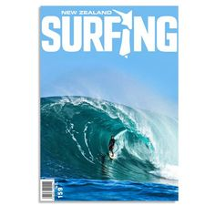 Buddha on the cover of the NZ Surfing Magazine.  First ever Kiwi / Indo / Aussie getting pitted at the right!! #oz #oneillindo — with Tai Graham.