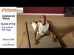 Posturas de suelo encadenadas parte1 por Ramiro Calle. CLASE DE YOGA 33 -