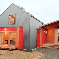 65 best Corrugated Metal Siding images on Pinterest   Corrugated tin     Corrugated Steel Design  Pictures  Remodel  Decor and Ideas   page 6      Metal  HousesMetal BuildingsModern