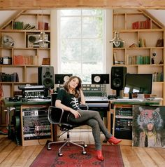 Kt Tunstall´s home.  #audio #studio #music