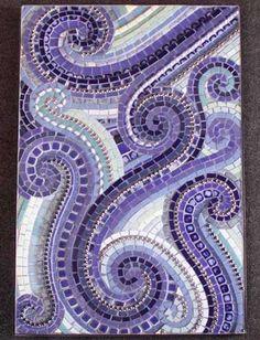 Ocean In Motion mosaic by Anja K