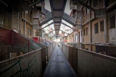 Corridor (probably Vele di Scampia, Napoli)