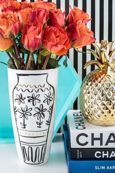 Kate Spade New York Daisy Place Chinoiserie Vase - Home & Office