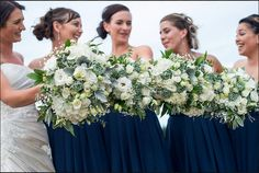 White wedding bouquets Image by Shar Hays