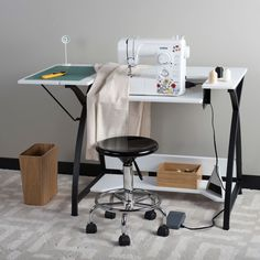Modern Sewing Table Sewingmachine Sew Ready Comet Modern Design Craft Desk New #SewReadyComet #Modern