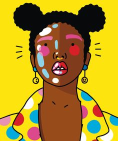 Colorful pop culture inspired illustrations by Rotterdam-based illustrator Xaviera Altena. See more below.