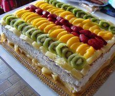 Bolo de Frutas Especial