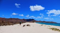 Another tiny island featuring breathtaking beaches...with no one else around for miles. Isla Espiritu Santo