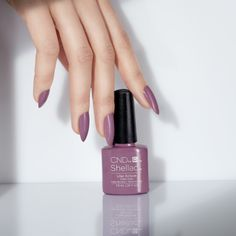 #CND #CNDnightspell A little luxury. Shade shown, Lilac Eclipse.