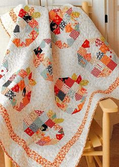 I just added my new pattern Pumpkin Seeds to my website. It's available in PDF and Paper. Come by and visit my website. Quilting Tutorials, Quilting Ideas, Petal Pushers, Halloween Quilts, Fall Quilts, Quilted Table Runners, Quilted Wall Hangings, Quilt Bedding, Pattern Paper