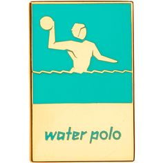 London 2012 Olympic Games Water Polo pin badge