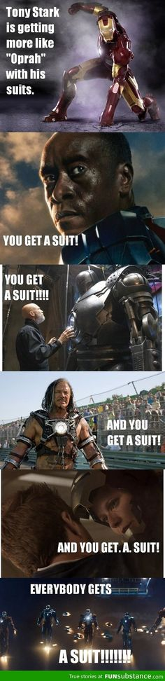So true! Thank GOD the Mandarin didn't get a suit (in the movie, he got one on the Armored Adventures cartoon)