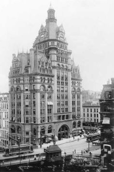 Not saved - The Pabst Building dominated the Milwaukee skyline from the time of its completion in 1893 until its demolition in 1981.