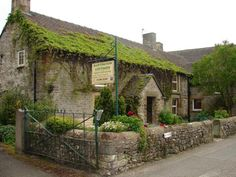 cottages located in the picturesque market square of the popular Peak District village of Hartington.