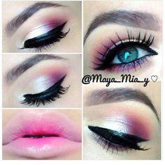 LOVE this look! Coastal Scents 252 palette #eye #makeup