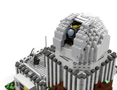 Hello and welcome to my next Idea: Sky Mountain Observatory After my last Observatory didn't made it I started to create a new one. It ended up that I created 4 different styl. Lego Space Station, Sky Mountain, Science, Create