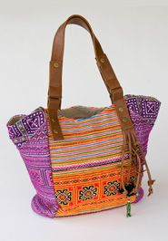 Vibrant Stitches Bag, made in Vietnam by Noonday Collection Arty Fashion, Fashion Bags, Style Fashion, Ethnic Bag, Ethnic Style, Bohemian Style, Noonday Collection, Embroidered Bag, Boho Bags