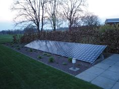 zonnepanelen in tuin - Google zoeken