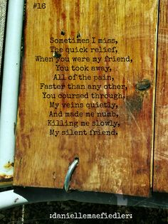 https://www.facebook.com/daniellemaefiedler poetry prose