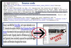 Search Engine Manipulation Articles # 36-HIDDEN LINKS AND TEXT-Hidden text can also be hidden inside alt tags, Noscript tags, No embed tags and no frames tag. Some clever people try to hide text behind images. Users will see only image but the search engines will see the text hidden behind the image.