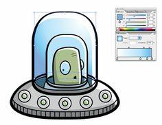 Adding Gradients to Illustrations in Adobe Illustrator « Illustration Info
