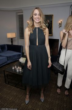 Dressed to impress: The Insurgent actress - who starred alongside Lily in romcom Love, Ros...