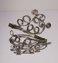 upper arm bracelet-silver armlet- Upper Arm