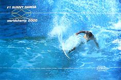 Sunny Garcia WORLD CHAMP 2000 Poster - Surfing poster  ~available at www.sportsposterwarehouse.com