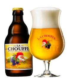 La Chouffe blond - Brasserie d' Achouffe, Achouffe (België) - Beoordeling GGOB 7,9
