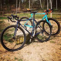 Hangoverride with my girl #goldsprintberlin #cyclocross #gianttcx #thegentlejaunt #gravel #brothercycles @giantgermany @brothercycles by easy_goldsprint