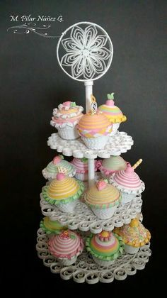 paper quilling candies food - Google Search