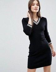 QED London Trim Dress