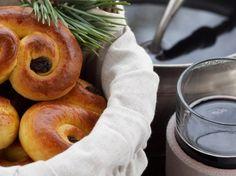 Sahramipullat, resepti kotiliesi.fi - Saffron bunnies