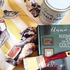 DIY weekend with a little help from @houseofhackney and @anniesloanhome