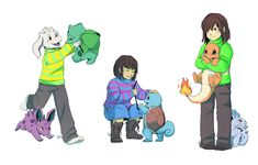 I think you should give Pokemon a GO. My two loves together.