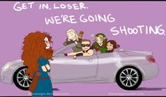 HA! My favorite archers meets Mean Girls. I may or may not have a thing for archers...