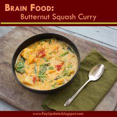 Butternut Squash Curry – Wahls Paleo Recipe