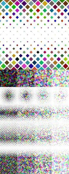 24 Multicolored Square Patterns (AI - EPS - JPG 5000x5000) #BackgroundGraphics #backdrop #BackgroundDesign #PatternDesigns #design #designresources #graphics #graphics #patterns #ColorPattern #ColorBackgrounds #background #BackgroundDesign #DesignBundles #graphicresources #pattern #background #BackgroundGraphic #graphicdesign #graphicdesign Square Patterns, Color Patterns, Vector Background, Background Patterns, Vector Pattern, Pattern Design, Abstract Backgrounds, Colorful Backgrounds, Vector Design