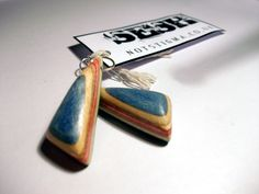 Jewellery made from recycled skateboards