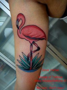 pink flamingo tattoo - Buscar con Google