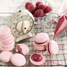 Himbeer-Macarons Rezept | Küchengötter