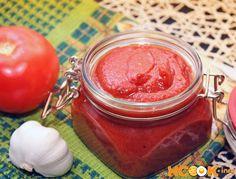 рецепт домашнего томатного соуса  для пицыы