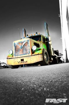 As car transporters go, Welderup's '96 Peterbilt 379 is truckin' crazy!